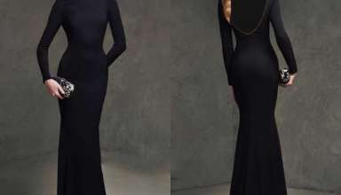 مدل لباس مجلسی پشت باز با طرح های شیک و زیبا