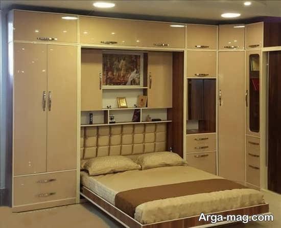 مدل تختخواب تاشو با طرحی جدید