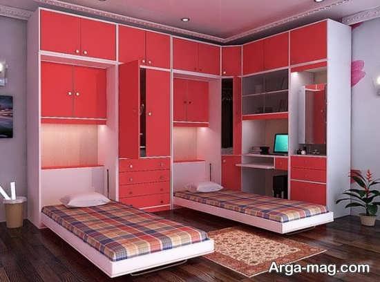 مدل تختخواب تاشو با طرحی متفاوت