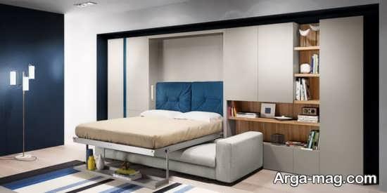 مدل های زیبای تختخواب تاشو