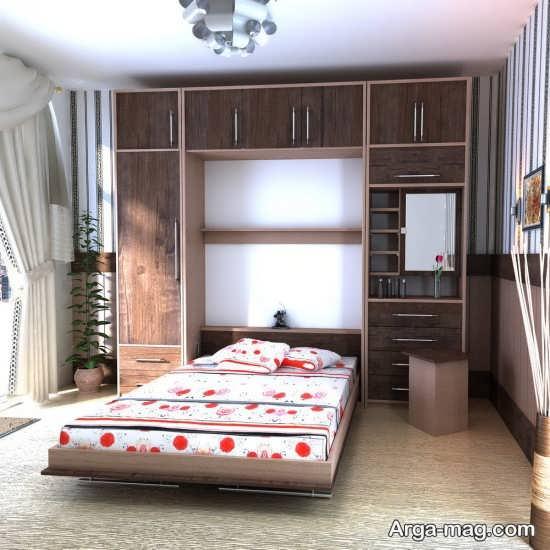 مدل تختخواب تاشو با طرحی ایده آل