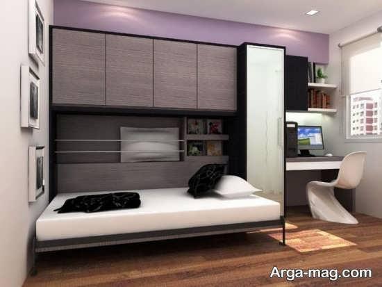 مدل تختخواب تاشو با طرحی بی نظیر