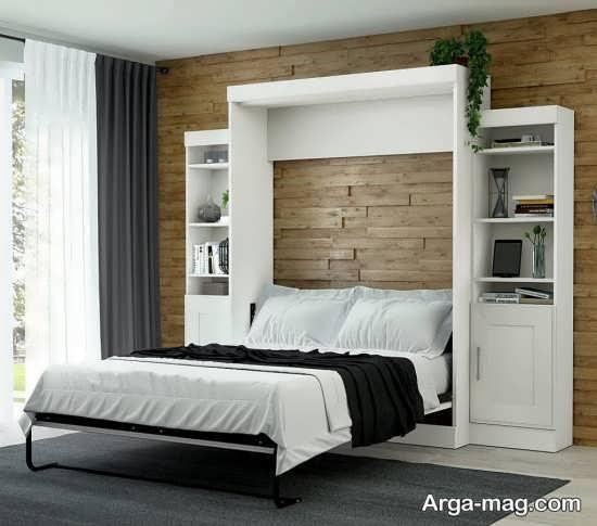مدل تختخواب تاشو با طرحی زیبا