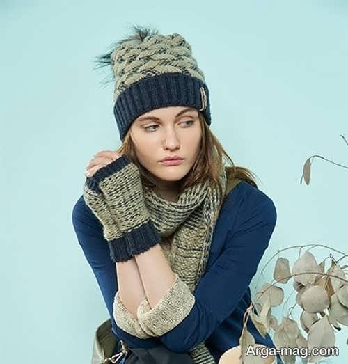 انواع مدل شال و کلاه دخترونه