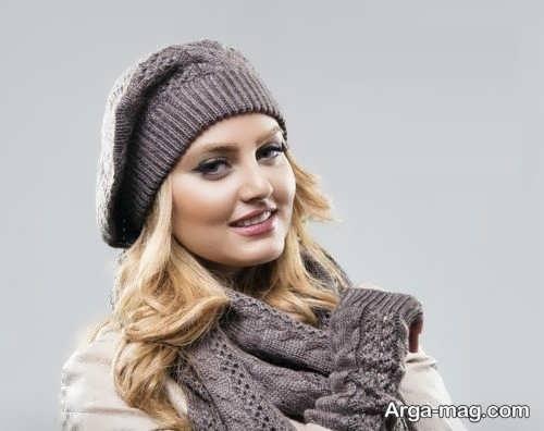 مدل شالگردن و کلاه دخترونه