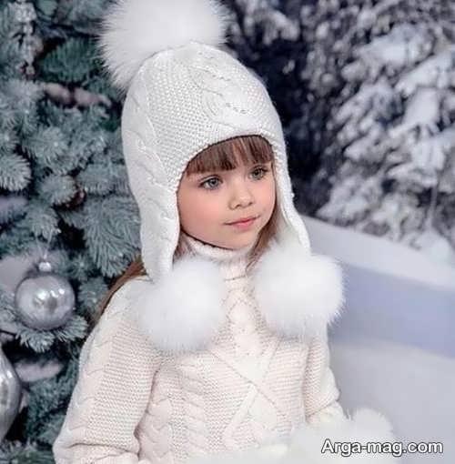 مدل شال و کلاه دخترانه و بچگانه