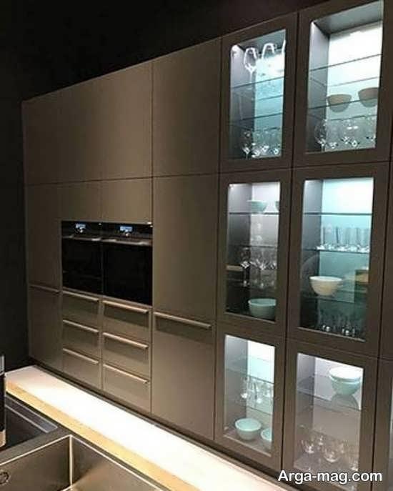 کابینتهای شیشه ای جدید