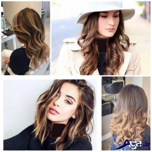 رنگ موهای زیبا سال 2017