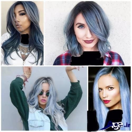 مدل رنگ موی سال 2017