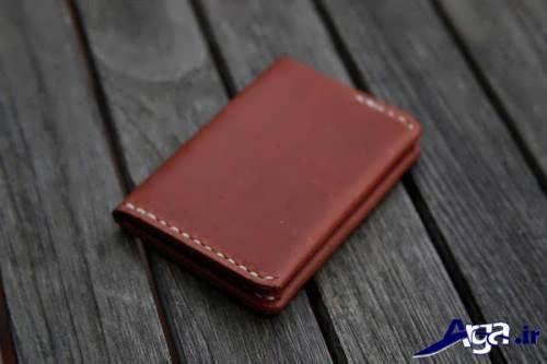 مدل کیف پول چرم دست دوز با طرح های شیک و کاربردی