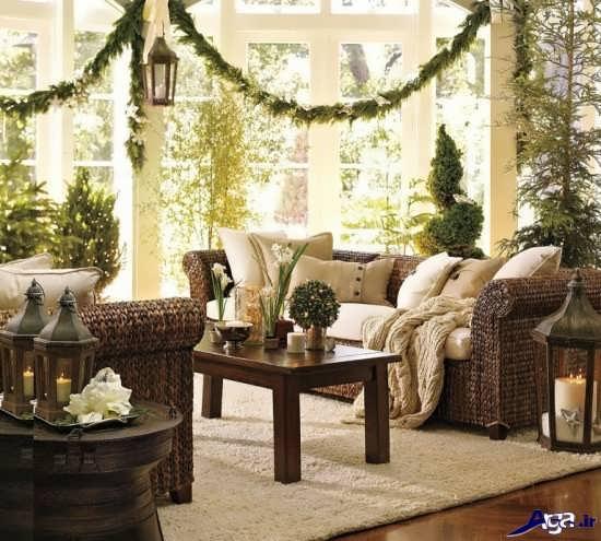 تزیینات خانه با گل طبیعی