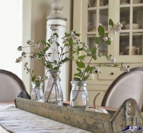 دیزاین زیبای منزل با گل