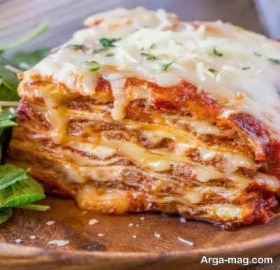 دستور تهیه لازانیا ایتالیایی با مرغ