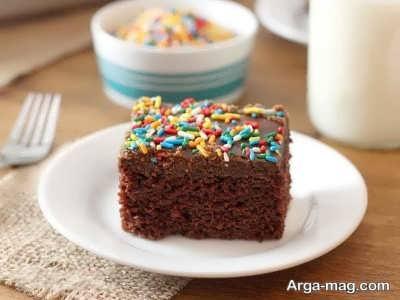 تهیه کیک قهوه بدون فر