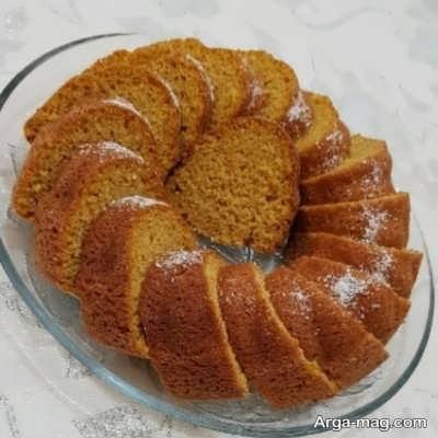 مراحل تهیه کیک کدو حلوایی