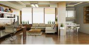 دکوراسیون داخلی خانه های کوچک با طراحی مدرن و زیبا