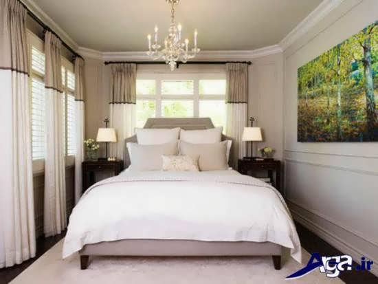دکوراسیون داخلی اتاق خواب مدرن و زیبا