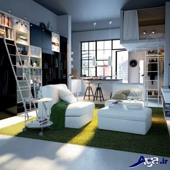 طراحی دکوراسیون داخلی خانه های کوچک و زیبا