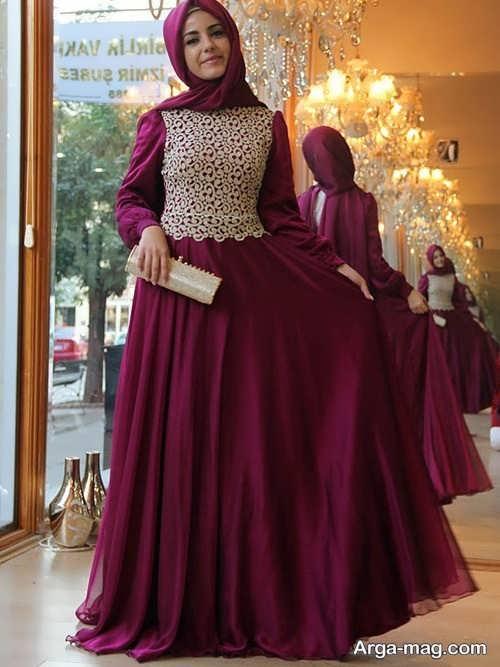 مدل جدید لباس مجلسی اسلامی