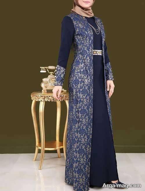 لباس مجلسی اسلامی ایرانی شیک