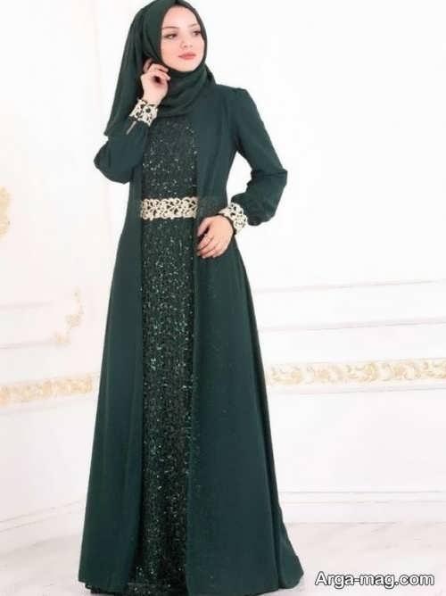 لباس مجلسی اسلامی ایرانی دیدنی