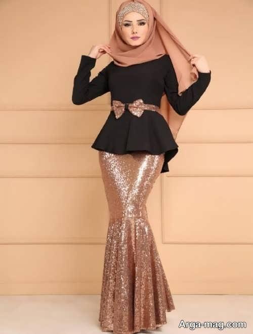 جذاب ترین مدل لباس مجلسی ایرانی