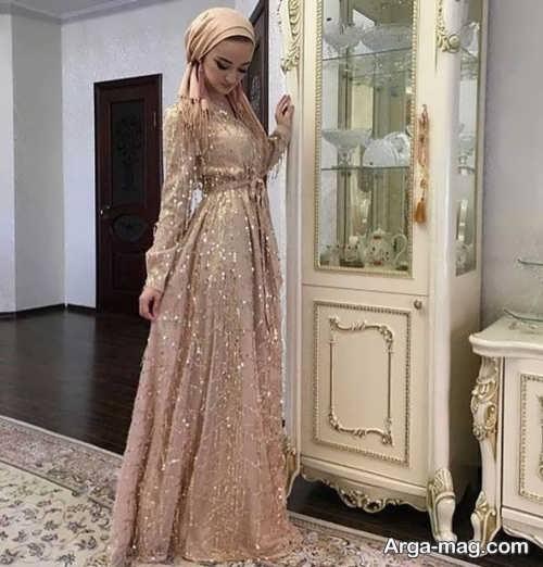 مدل دیدنی لباس مجلسی اسلامی