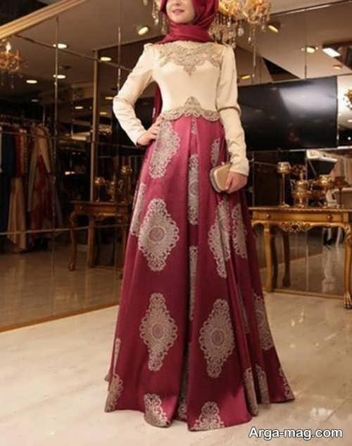 مدل قشنگ لباس مجلسی اسلامی