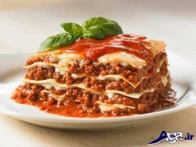 طرز تهیه لازانیا ایتالیایی