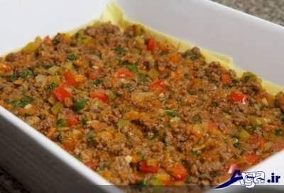 دستور پخت لازانیا ایتالیایی لذیذ