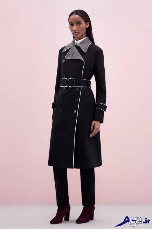 مدل پالتو بلند مخصوص خانم های جذاب