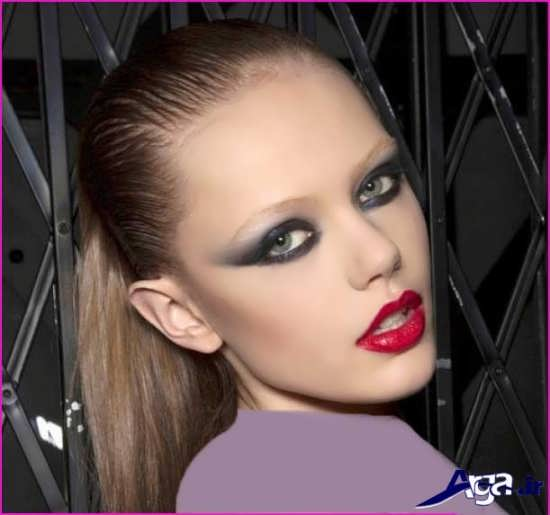 مدل آرایش صورت زیبا و جدید 2017