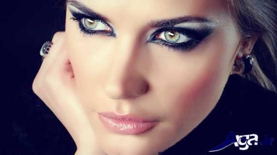 مدل های زیبا آرایش صورت