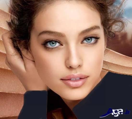 مدل آرایش ملایم دخترانه 2017