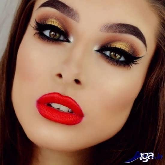 مدل آرایش زنانه 2017