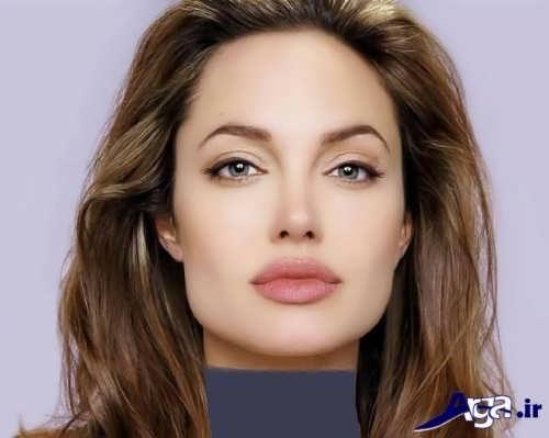 مدل آرایش زیبا زنانه
