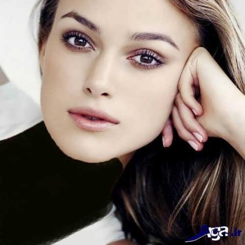 مدل آرایش برای خانم ها با صورت لاغر