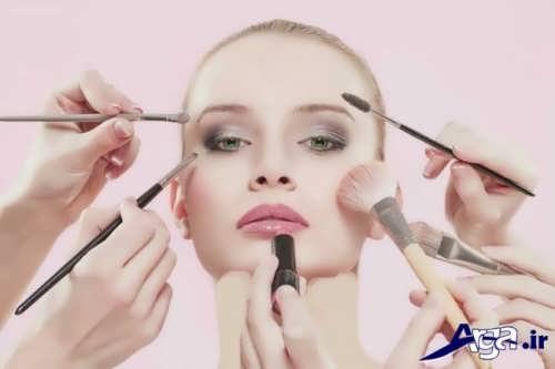 مدل آرایش برای صورت لاغر با جدیدترین متدهای آرایشی روز دنیا