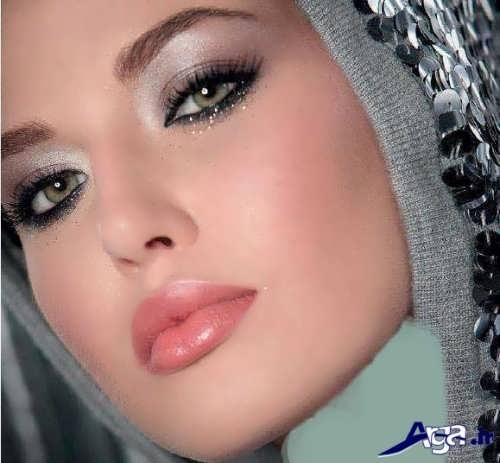 مدل آرایش برای صورت لاغر