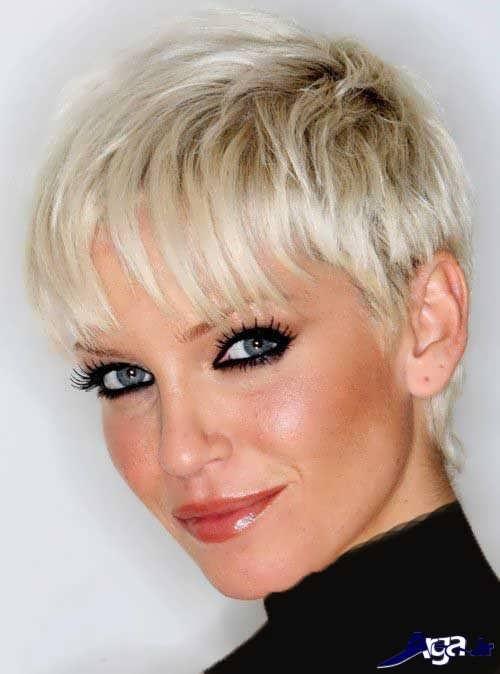 انواع مدل های آرایش برای صورت لاغر