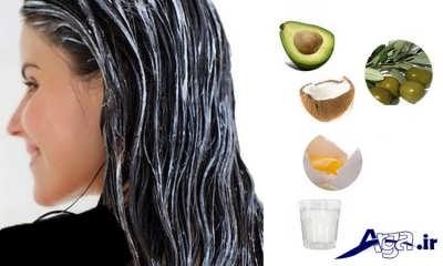 انواع ماسک موی طبیعی برای رشد سریع موها