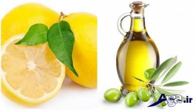 ماسک آب لیمو ترش و روغن زیتون