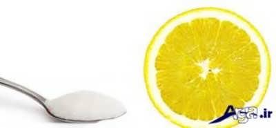 ماسک طبیعی لیمو ترش و شکر