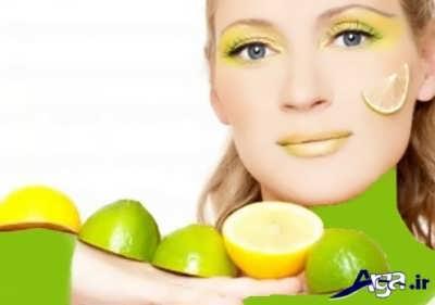 ماسک لیمو ترش برای درمان مشکلات پوستی