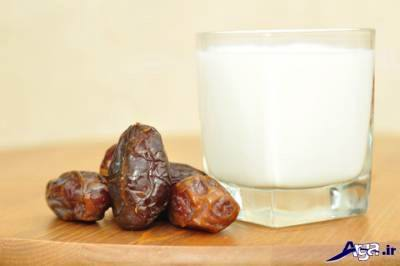 رژیم شیر و خرما
