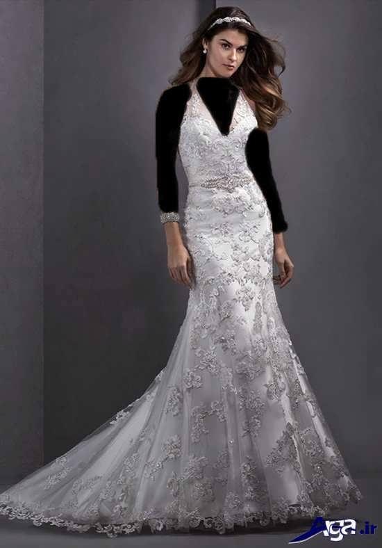 مدل لباس عروس با جدیدترین طرح های مد سال 2017