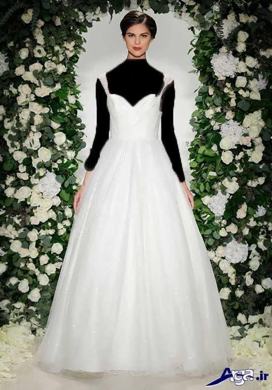 مدل لباس عروس 2017 ساده