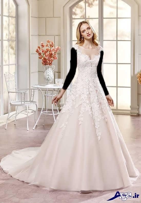 مدل های زیبا و شیک لباس عروس سال 2017