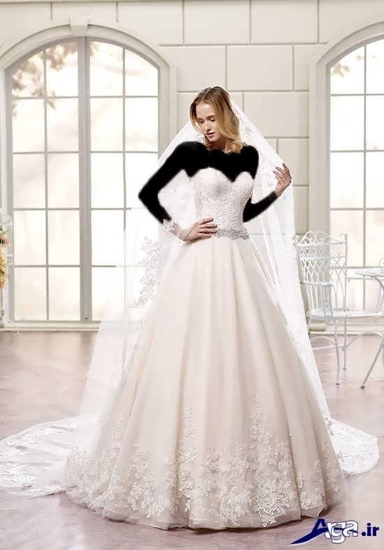 مدل های زیبا و جدید لباس عروس 2017