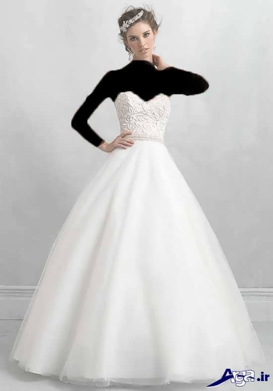 مدل لباس عروس 2017 پف دار